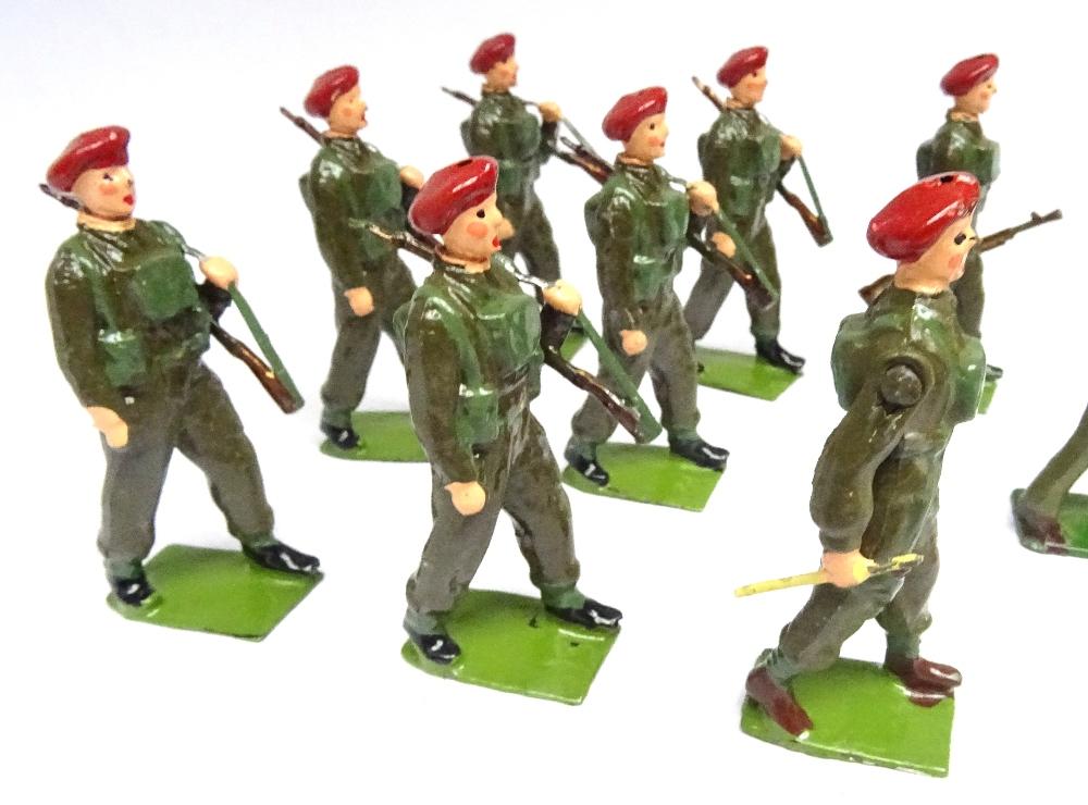 Britains set 1290, British Infantry Band - Image 6 of 9