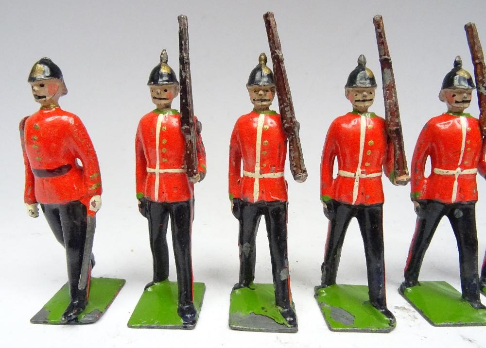 Britains RARE Famous Regiment set 1597, Dorsetshire Regiment - Image 3 of 6