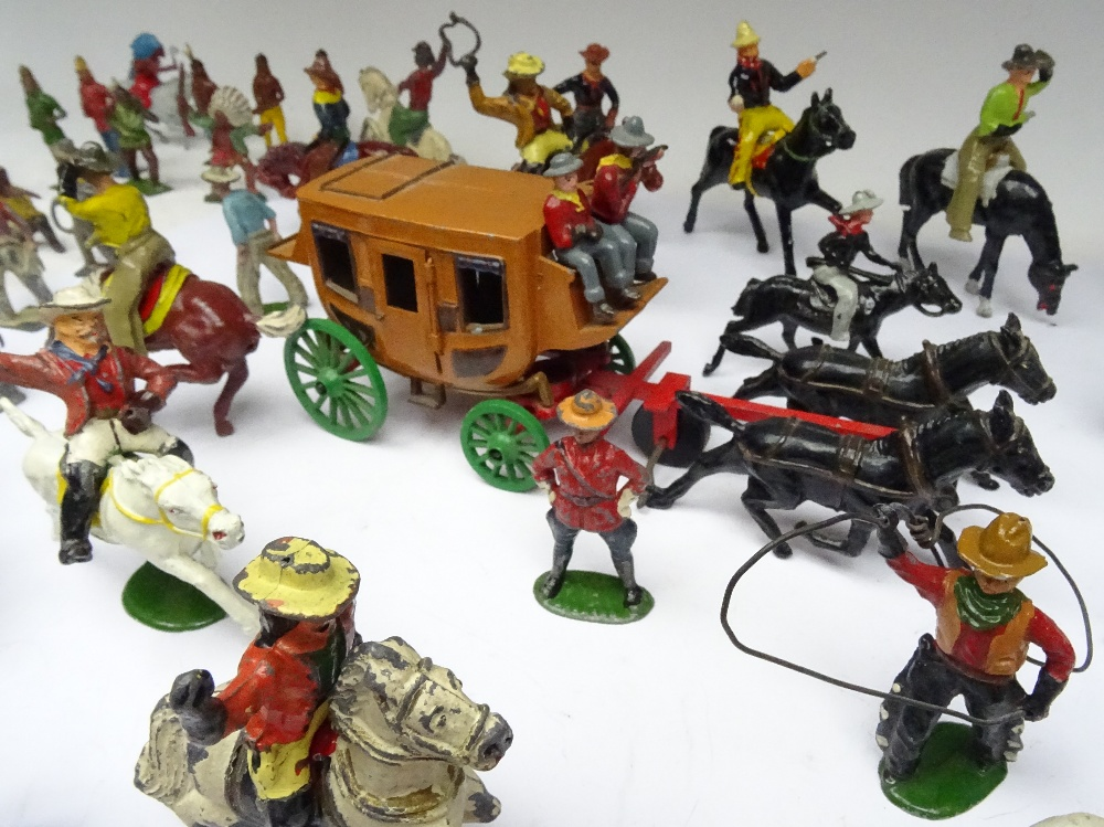 Britains and other Wild West - Image 2 of 6
