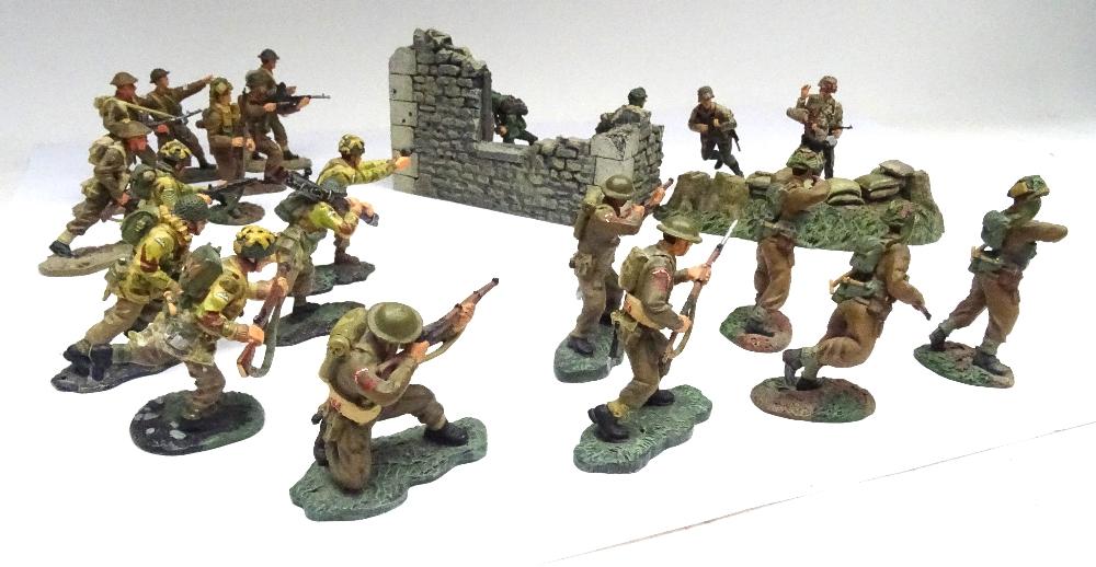 Britains Second World War Matte Series Normandy British - Image 3 of 5