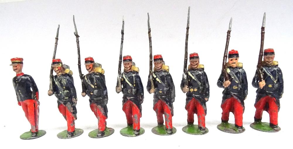 Britains set 141, French Infanterie de Ligne - Image 2 of 5