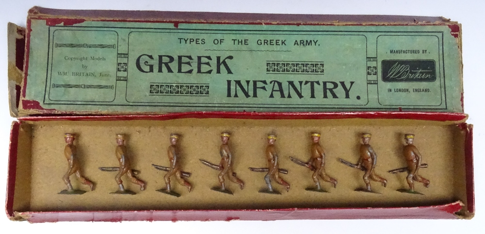 Britains set 171, Greek Infantry