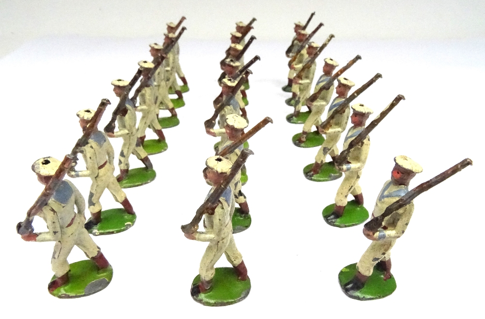 Britains three sets 24B small size Whitejackets - Image 3 of 5