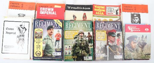 Selection of Military Magazines and Books