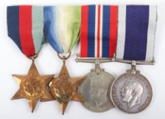 British Royal Naval Submariners Distinguished Service Medal Winners Long Service Medal Group of Four