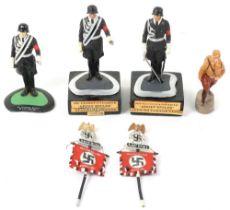 Figures of German SS-Leibstandarte Adolf Hitler