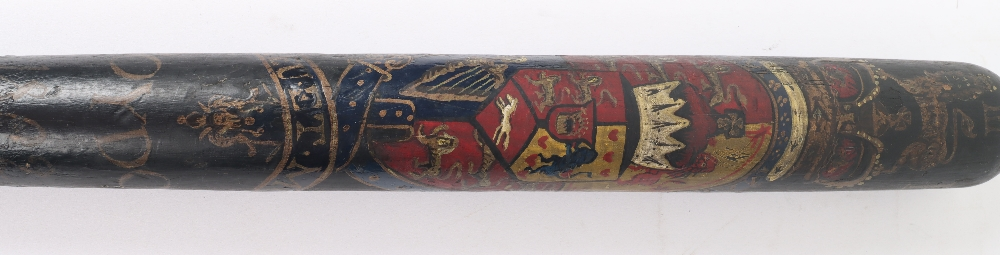 Painted Police Truncheon - Image 2 of 4