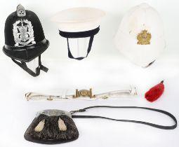 Obsolete Pattern Hampshire Constabulary Helmet