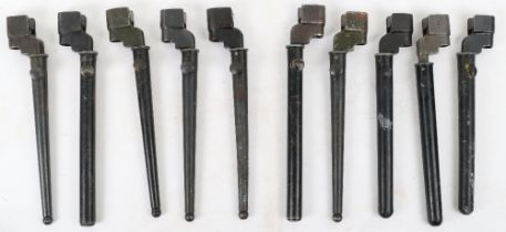 10x British No4 Mk II Spike Bayonets