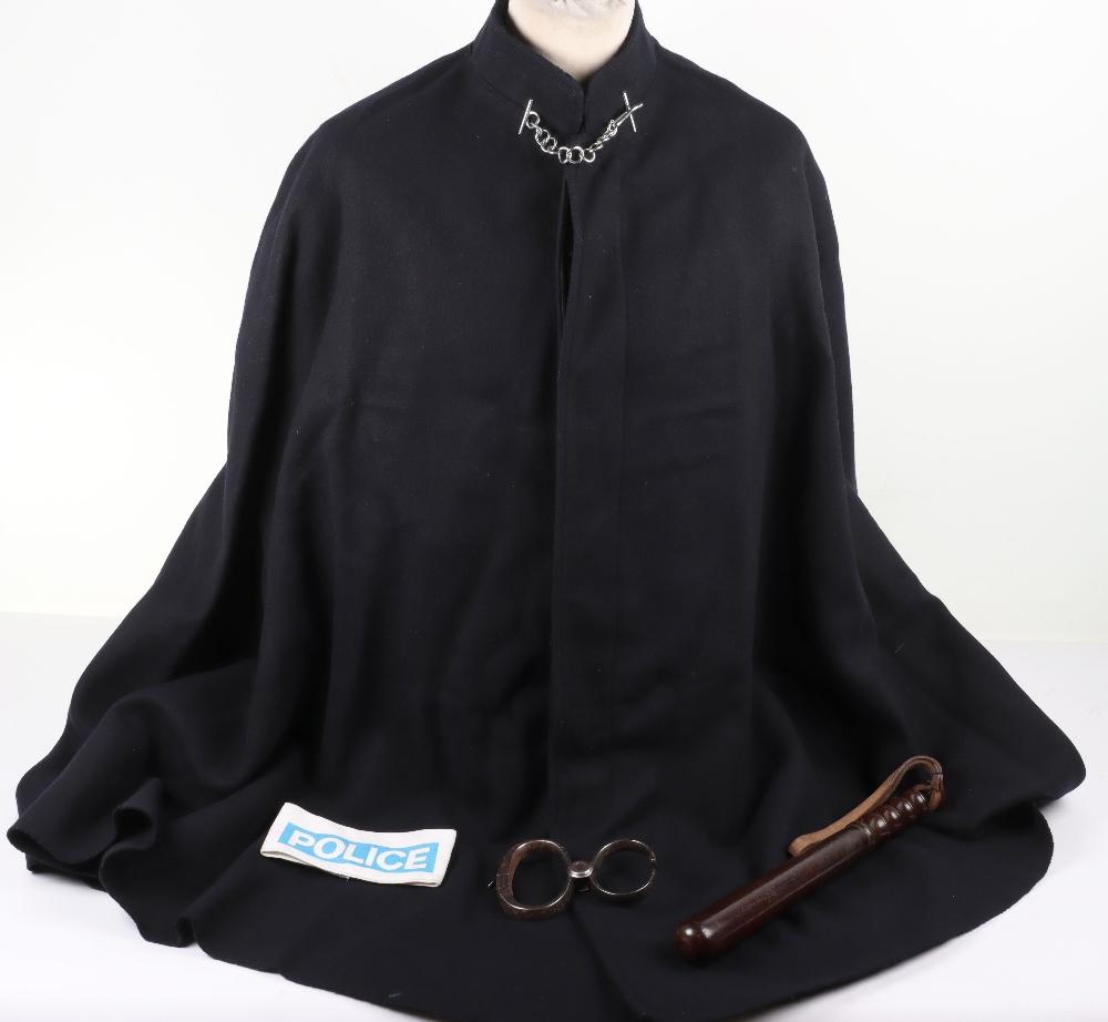 A Vintage Policeman's Woollen police cape