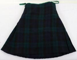 Scottish Regimental Tartan Kilt