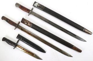2x British 1907 Pattern Bayonets