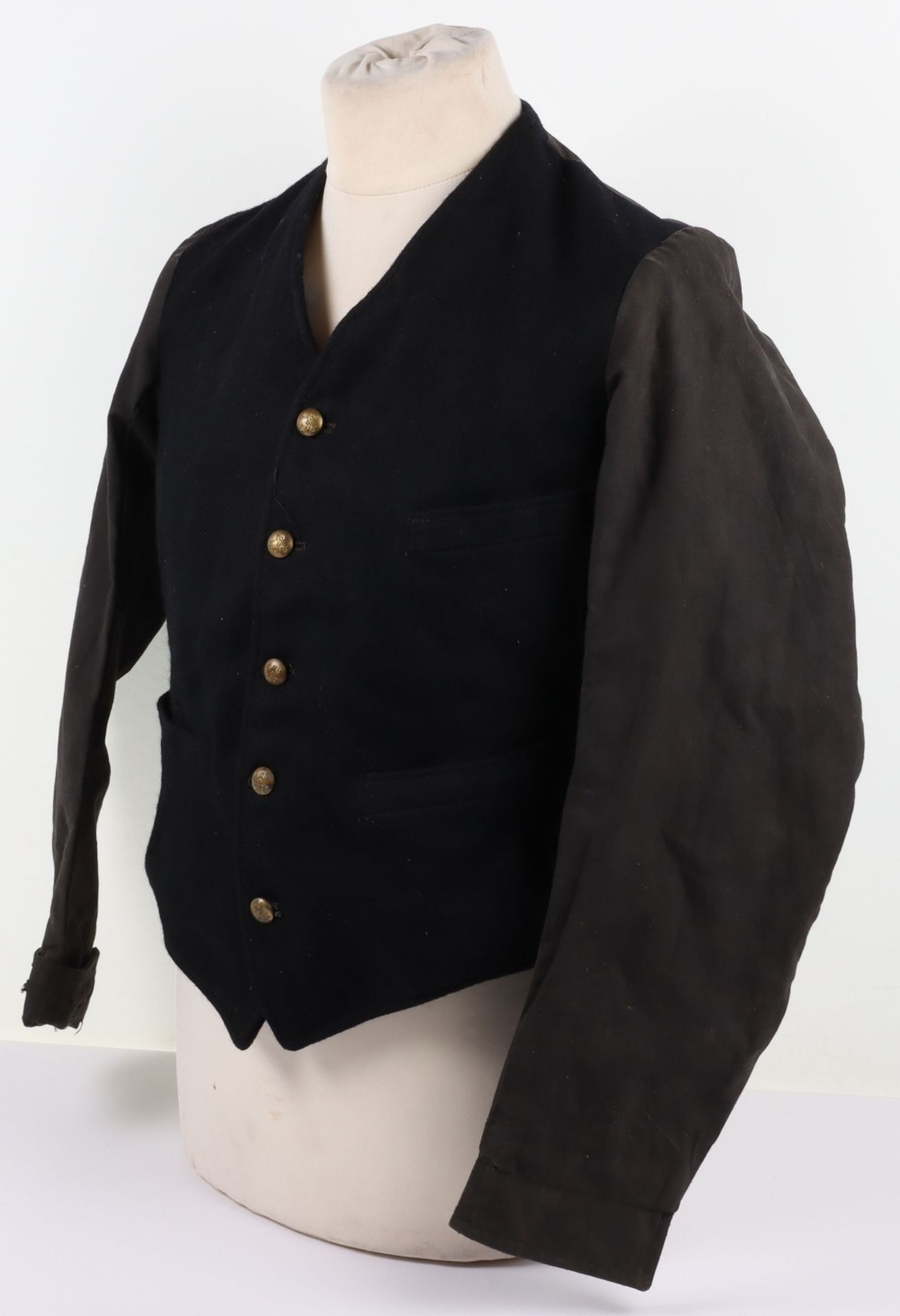 A London, Midland & Scottish and London North Eastern Railway porter's jacket, circa 1930 - Image 5 of 13