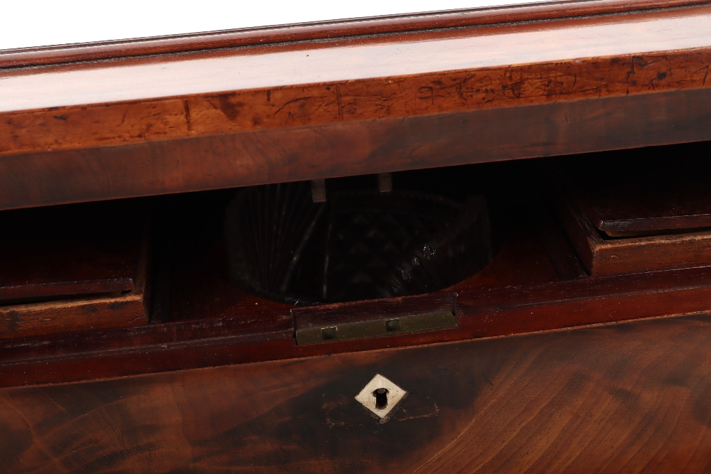 A 19th century mahogany casket tea caddy - Image 12 of 14
