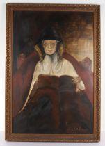 D Fulcher, 20th century , Oil on panel