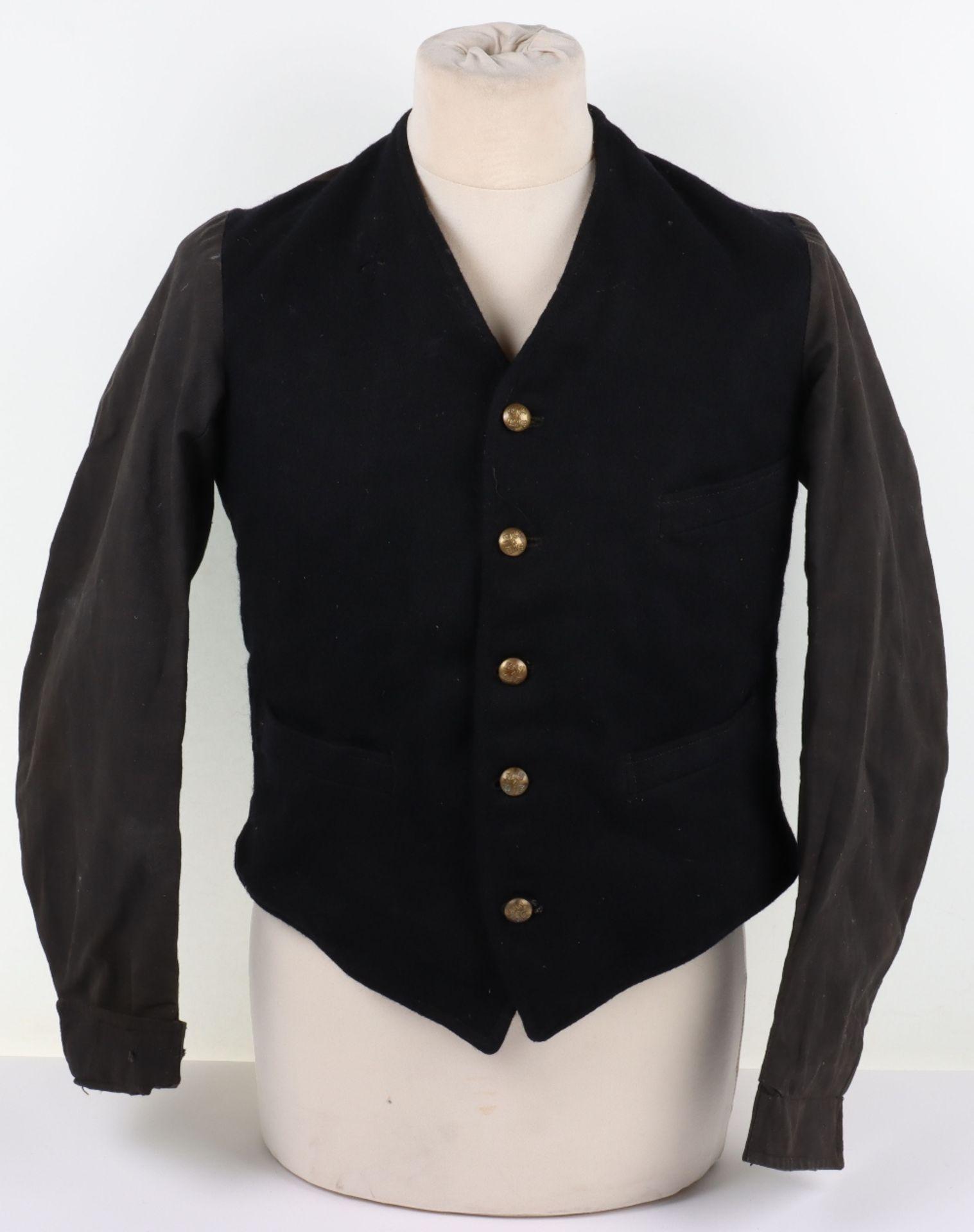 A London, Midland & Scottish and London North Eastern Railway porter's jacket, circa 1930 - Image 2 of 13