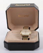 An Accurist 21 Jewels gentlemans wristwatch