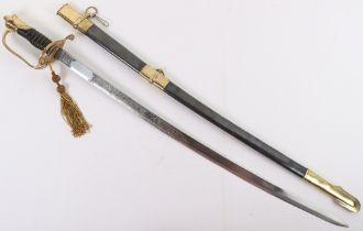 A C.S.A copy of an American Civil War Officers sword