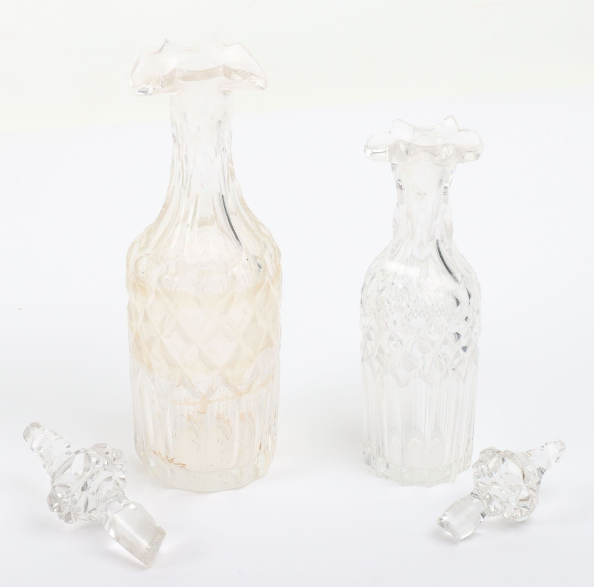 A Victorian silver and silver plated glass cruet set - Image 12 of 23
