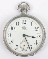 An Elco pocket watch