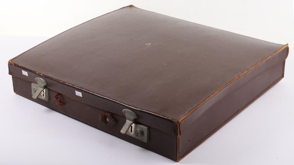A leather suitcase of Masonic regalia - Image 3 of 7