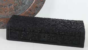 A 19th century Burmese carved box