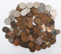 Selection of GB commemorative crowns and pennies
