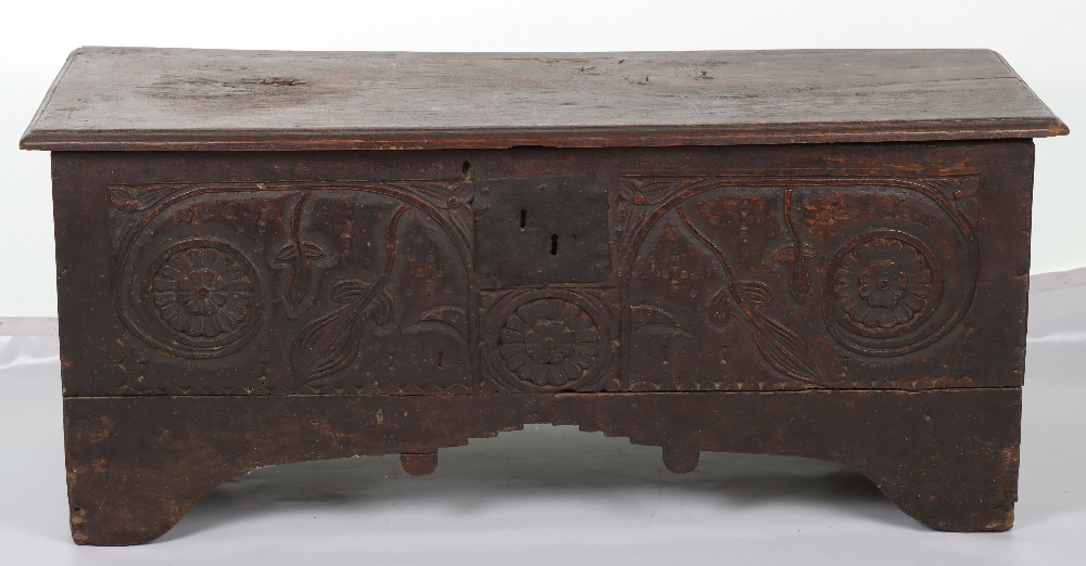 17th Century and later coffer