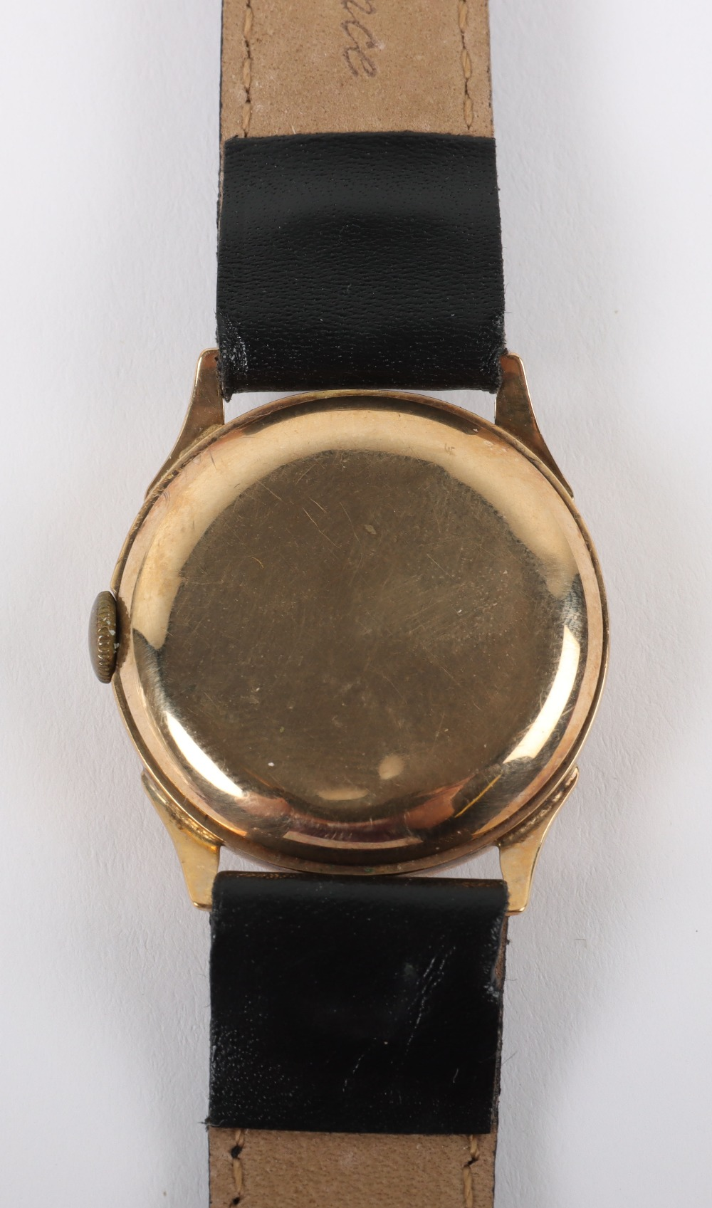 A vintage 9ct gold Swiss made wristwatch, circa 1940 - Image 5 of 7