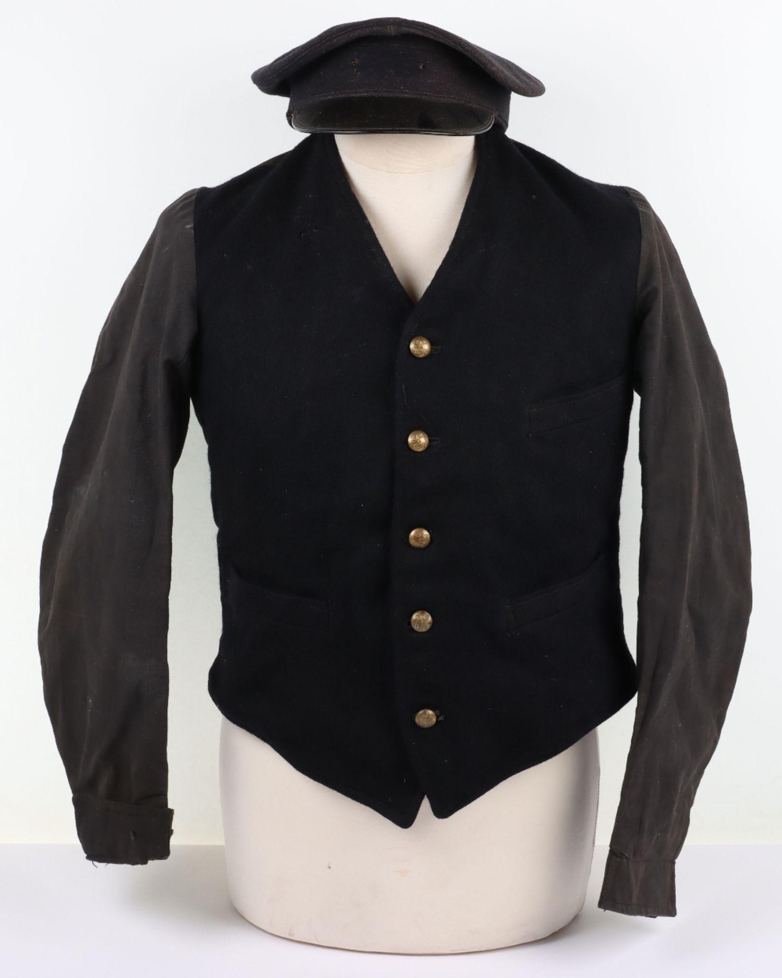 A London, Midland & Scottish and London North Eastern Railway porter's jacket, circa 1930