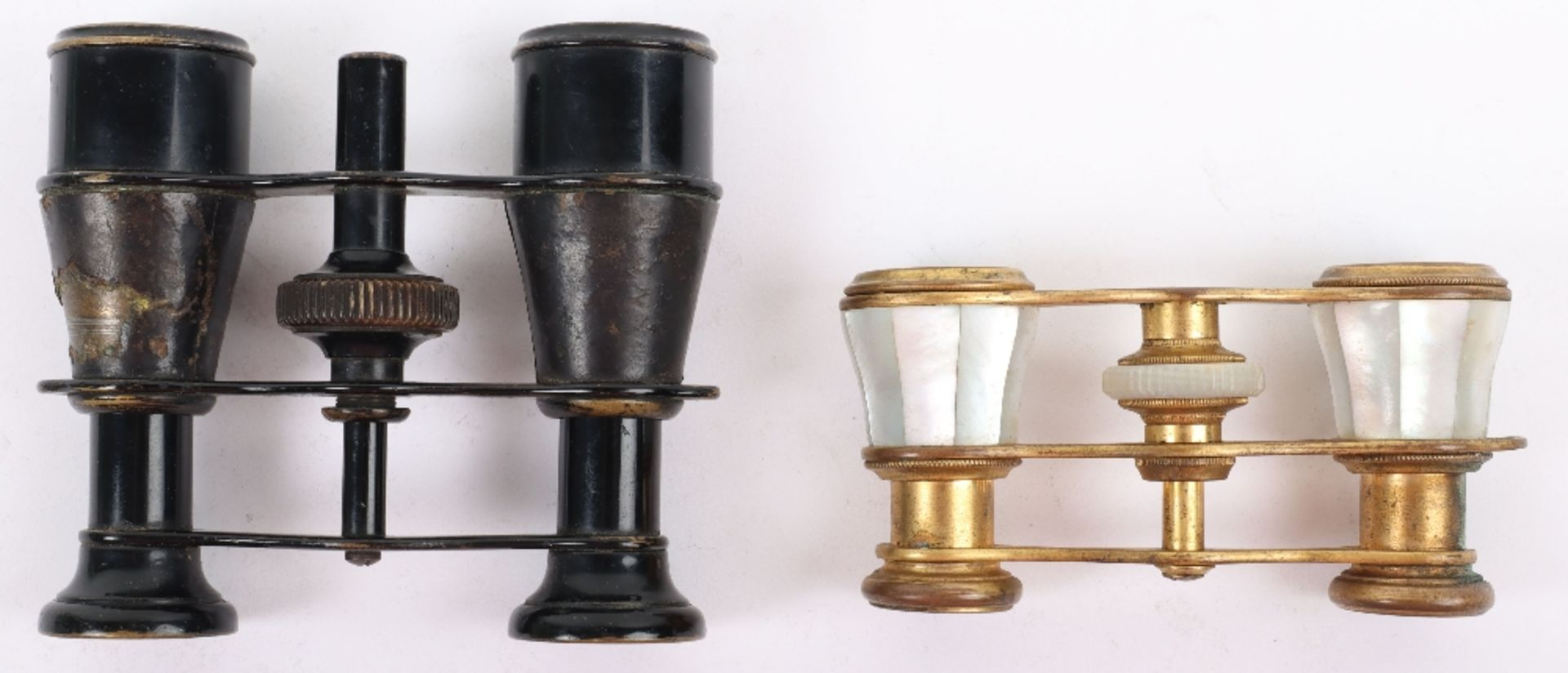 Two pairs of opera glasses