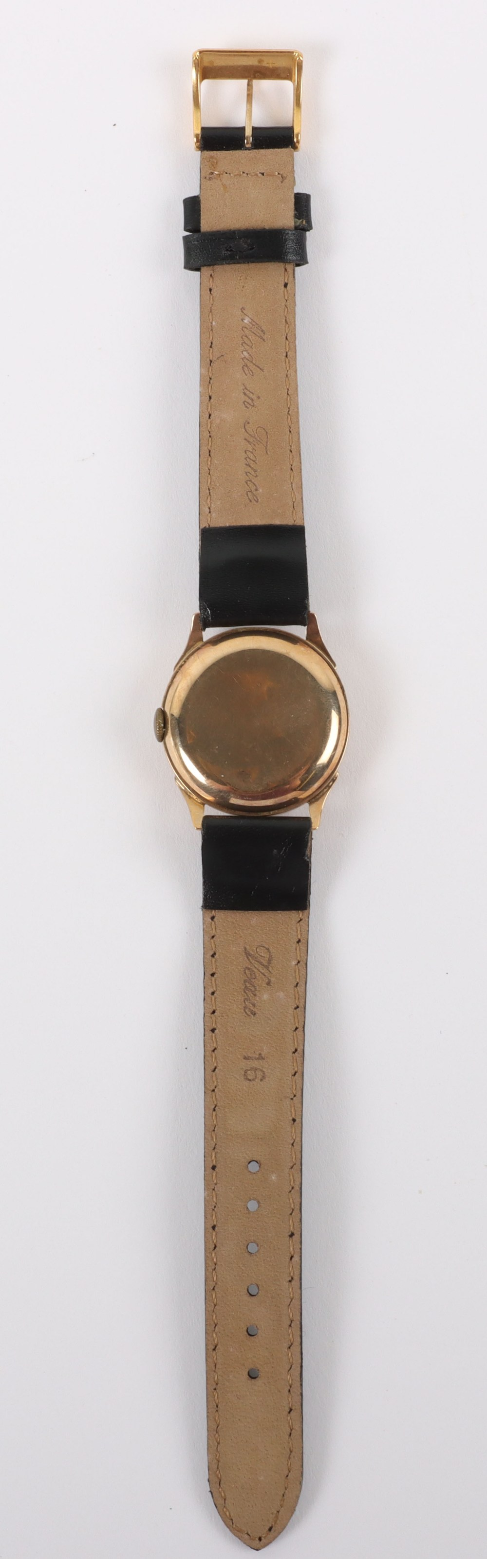 A vintage 9ct gold Swiss made wristwatch, circa 1940 - Image 4 of 7
