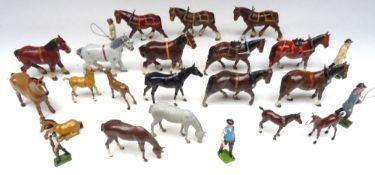 Britains assorted Horses