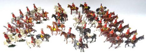 British hollowcast Royal Canadian Mounted Police mounted