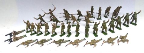 Britains Soldiers in Action