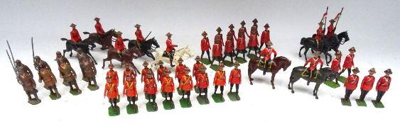 The full range of Britains Mounties