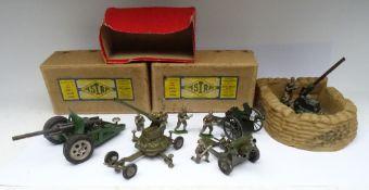 Britains set 1730, Gunners carrying Shells