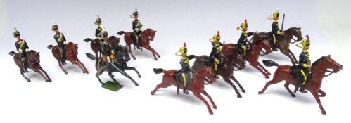 Britains set 8, 4th Hussars