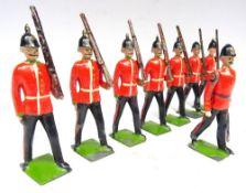 Britains RARE Famous Regiment set 1597, Dorsetshire Regiment