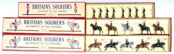 Britains set 136, Russian Cossacks