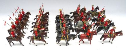 New Toy Soldiers Royal Canadian Mounted Police in stetsons, mounted