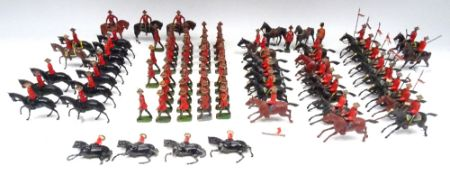 Britains assorted Royal Canadian Mounted Police mounted and on foot