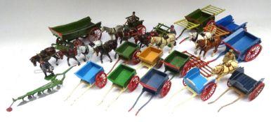 Britains Farm Wagon and Carts