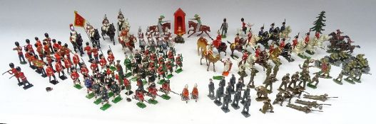 Mostly British hollowcast figures