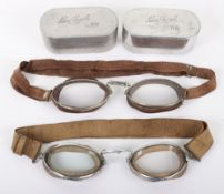 2x Pairs of Aviators Luxor Goggles No6 by E B Meyrowitz