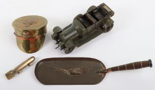 Great War Trench Art of Royal Naval Air Service Interest