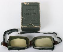 Pair of Vintage Lunette Sirrom Aviators Goggles
