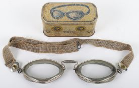 """Pair of Vintage Aviators French Made Goggles """"OTO MARQUE DEPOSEE BREVETE S G.D.G"""""""