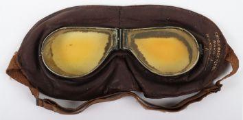 WW1 Royal Flying Corps Mark II Goggles