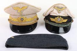Reichsmarschall Hermann Goring Peaked Cap